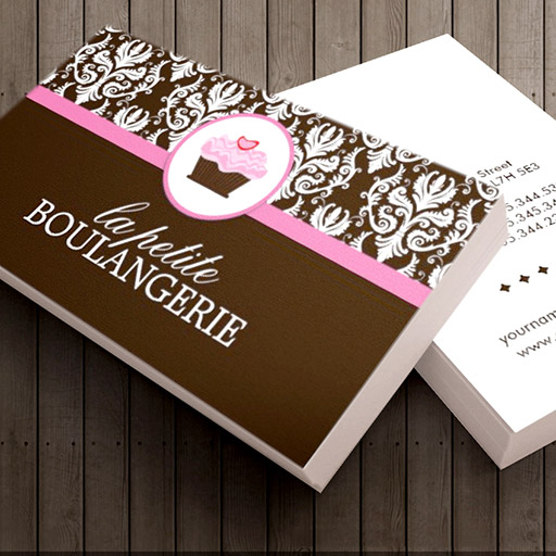 Customizable Bakery Business Cards