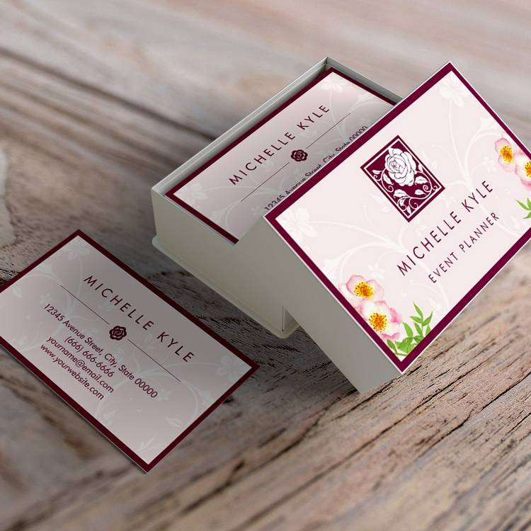 floral-business-card-templates