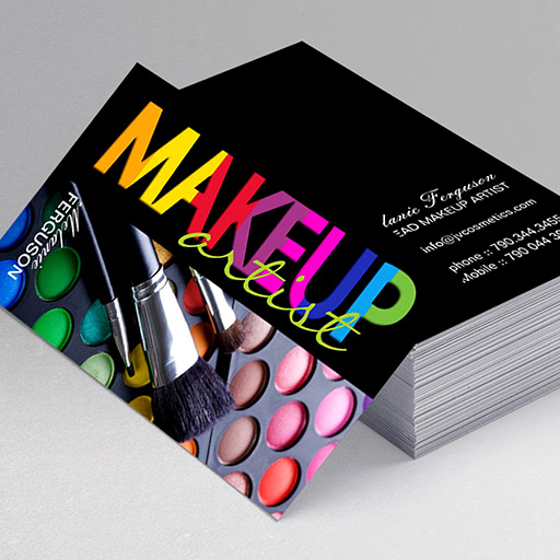 300 creative and inspiring business card designs page9 customizable bold makeup artist business card colourmoves