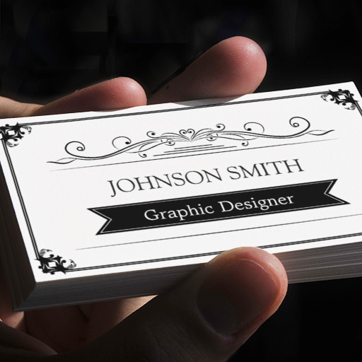 Customizable Classy Vintage Frame - Simple Elegant Business Cards