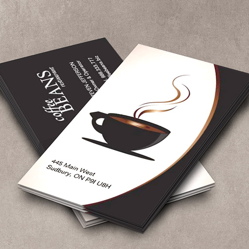 Customizable Coffee Shop or Bakery Business Cards