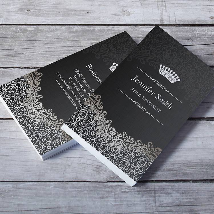 damask-business-card-templates
