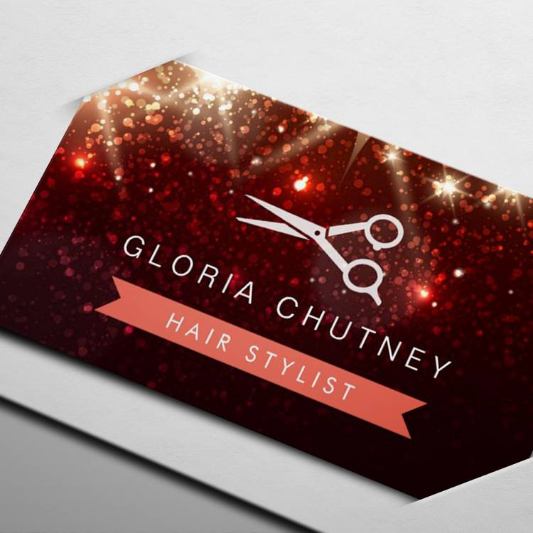 300 creative and inspiring business card designs page14 customizable hair salon hairstylist shiny sparkly glitter business card templates reheart Images