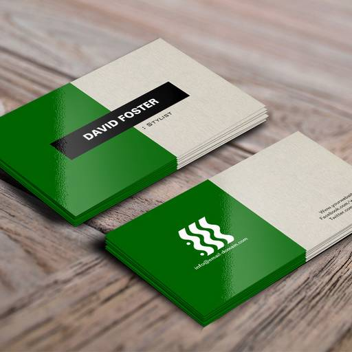 Customizable Stylist - Simple Elegant Stylish Business Card
